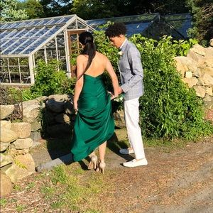 Jessica Angel Dresses - Jessica Angel Emerald Green Prom Dress